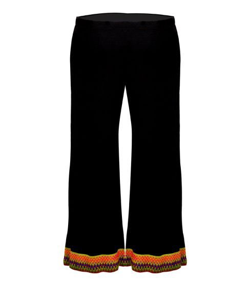 Pitusa Multi Crop Pant Black