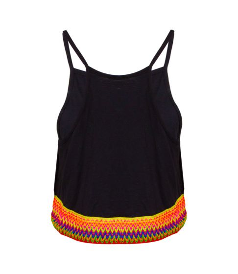 Pitusa Multi Crop Top Black