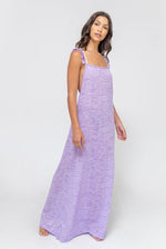 Flirty Cross Back Dress Lavender