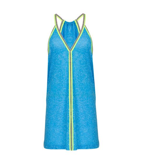 Pitusa Mini Sundress Blue