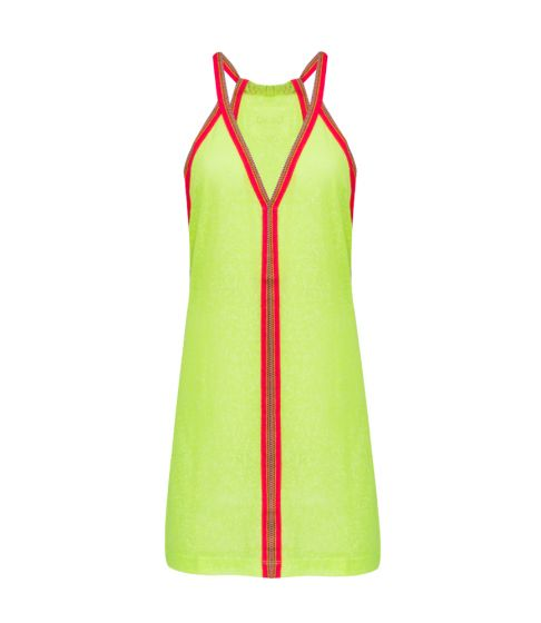 Pitusa Mini Sundress Lemon