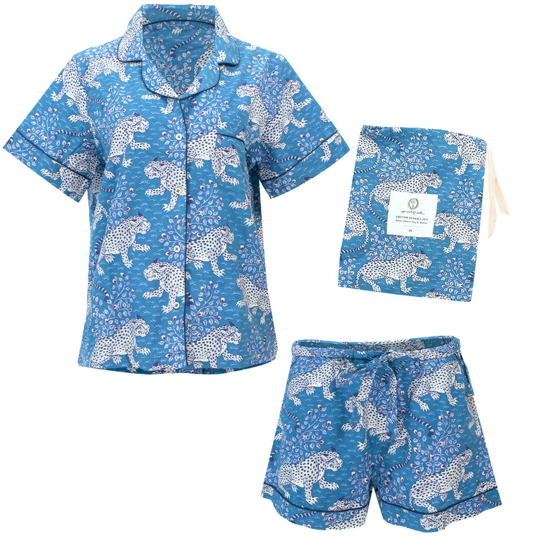 Bagheera Short Sleep Set Indigo
