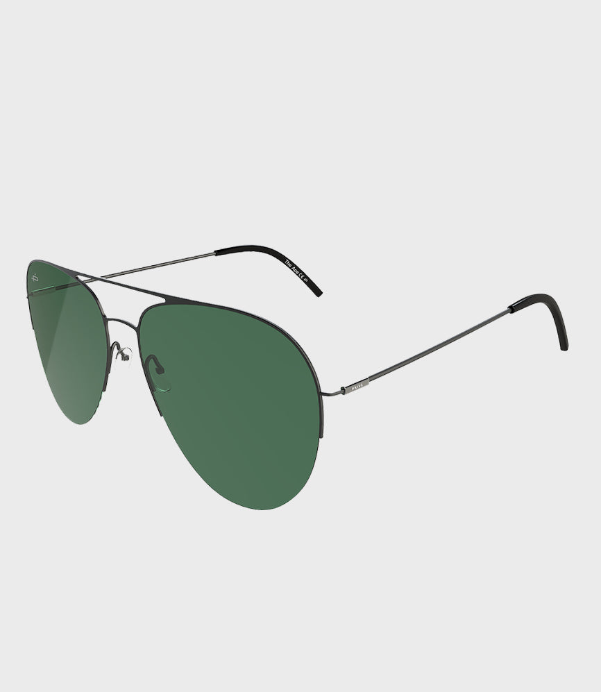 Unisex Sunglasses The Ace Black/Green