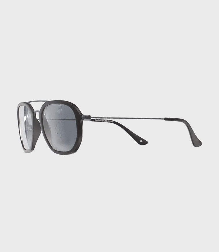 Unisex Sunglasses The Dale Matt Black/Smoke Mirror