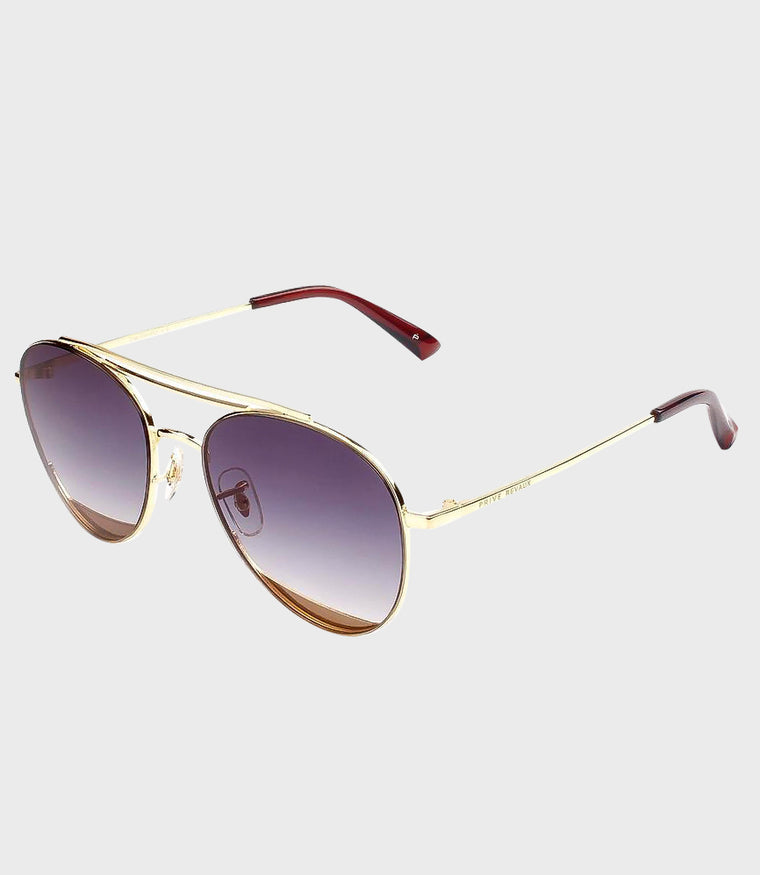 Unisex Sunglasses The DaveO Gold/Grey