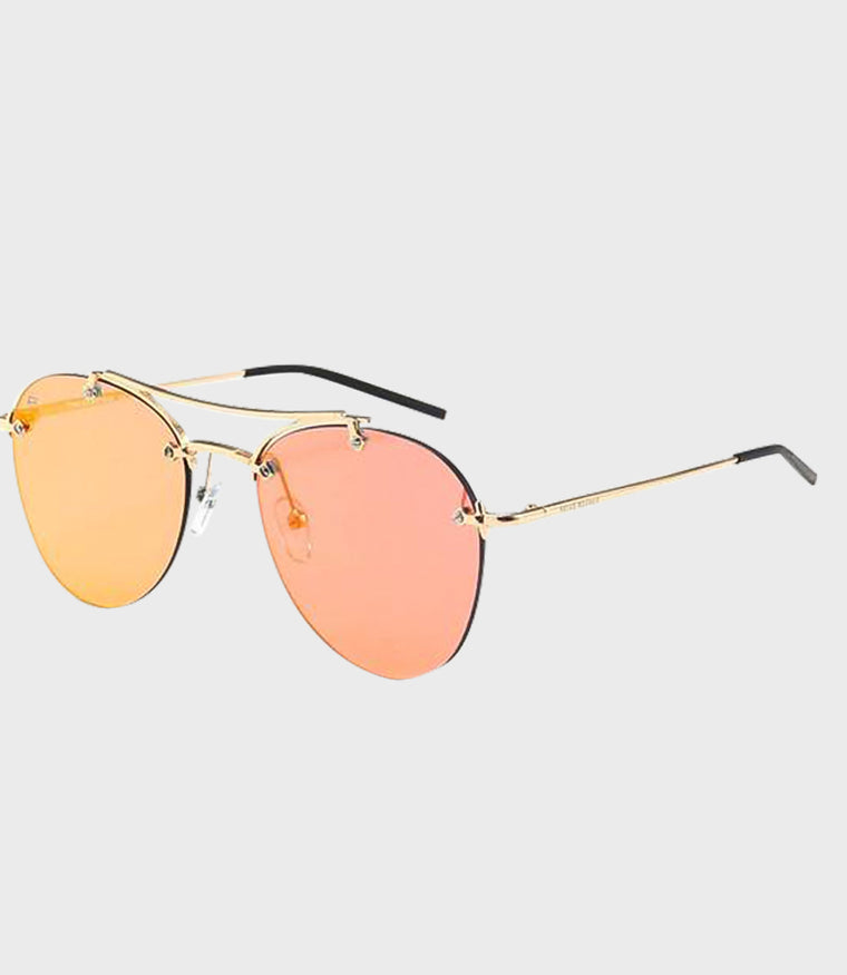 Unisex Sunglasses The Dutchess Gold/Red