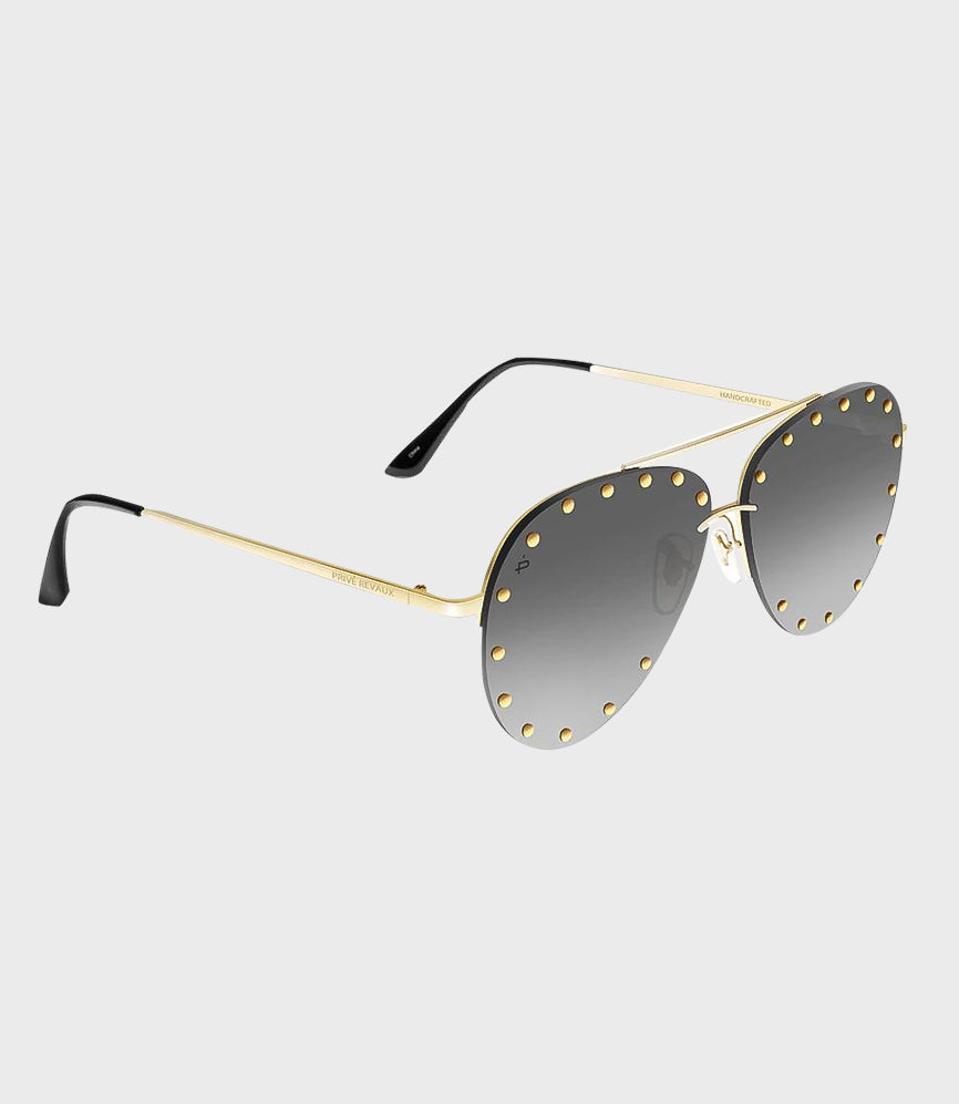 Unisex Sunglasses The Sixth Man Gold/Black