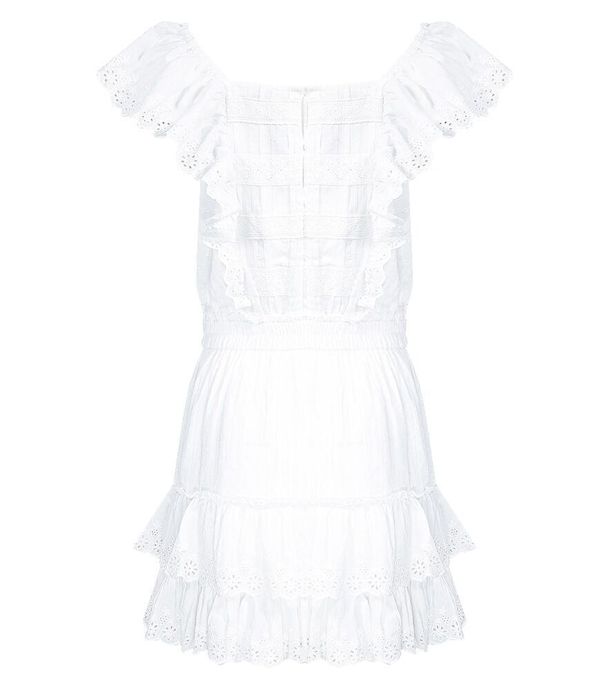 Margaret Dress White