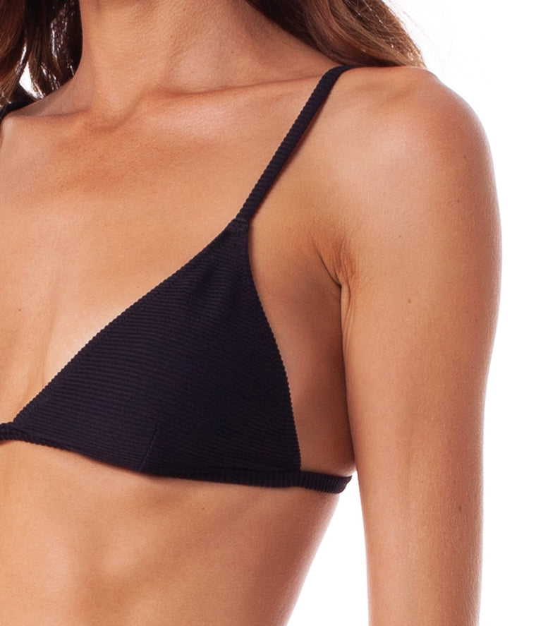 Rhythm Palm Springs Bralette Top Black