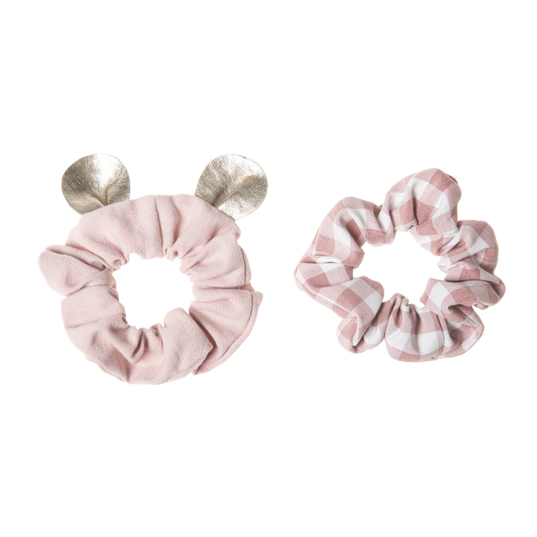 Rockahula Little Mouse Scrunchie Set Pink