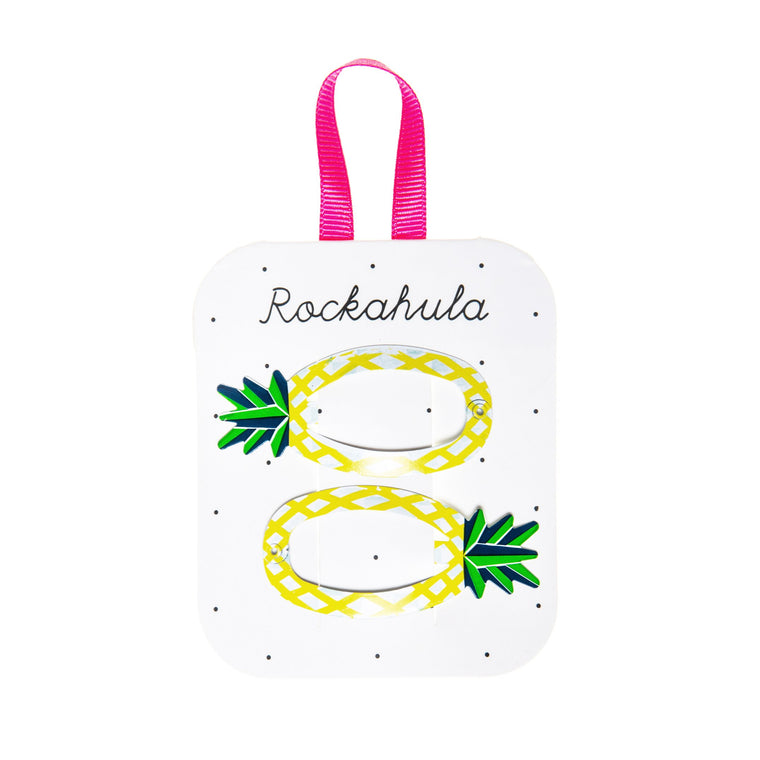 Rockahula Pineapple Snap Clips
