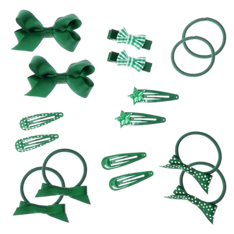 Rockahula School Hair Set Green