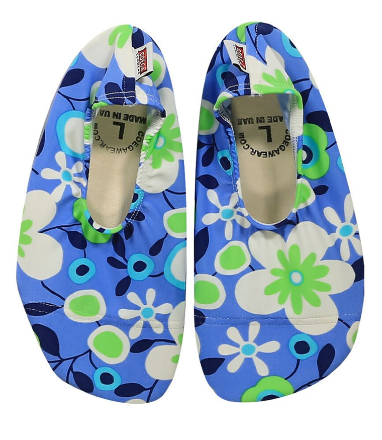 Coega Flower Turquoise Pool and Beach Shoes