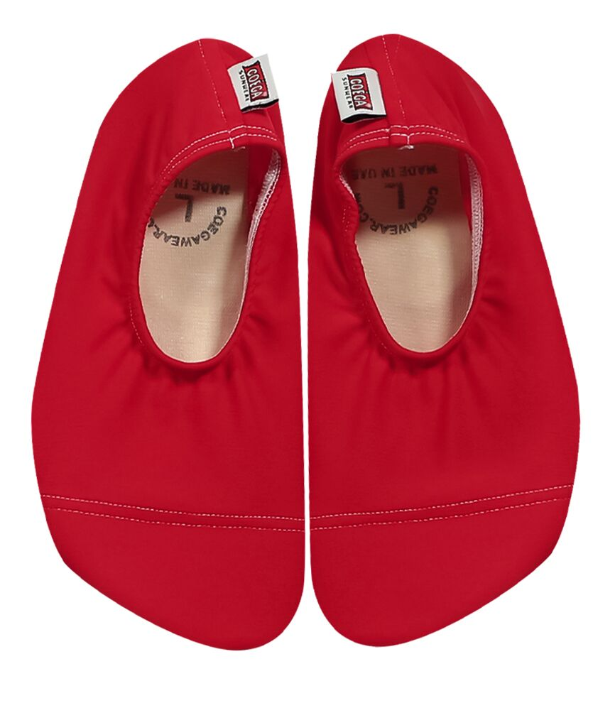 Coega Solid Red Pool and Beach Shoes