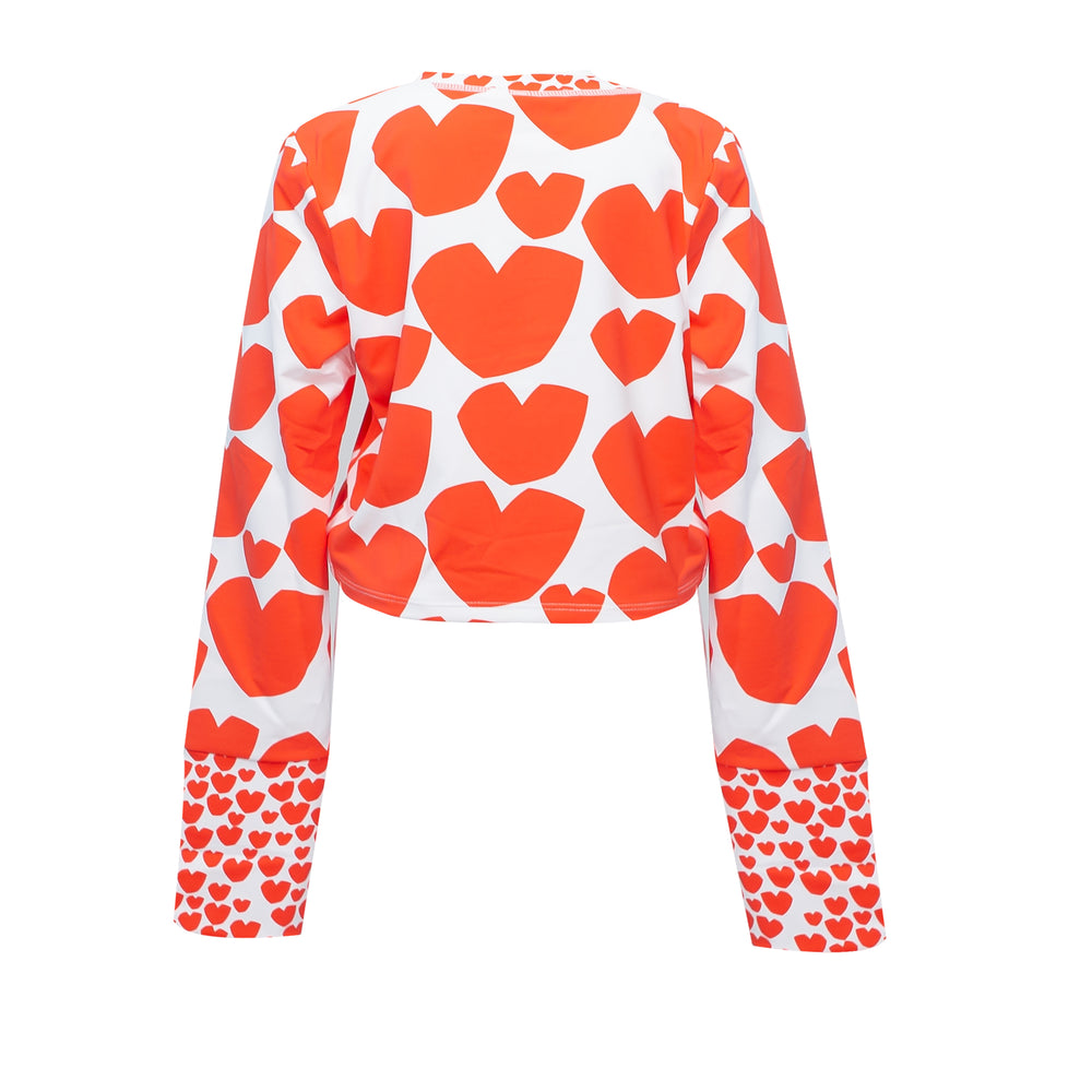 Big Heart Swim LS Tee