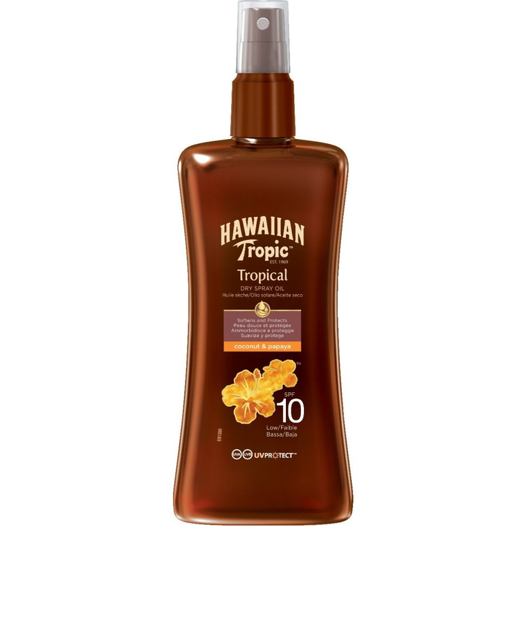 Tanning Oil Protective Coconut & Papaya Spray SPF10 200ml