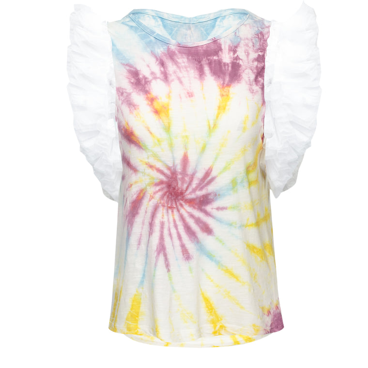 Ibiza Tule T-Shirt Tie Dye Ice Cream