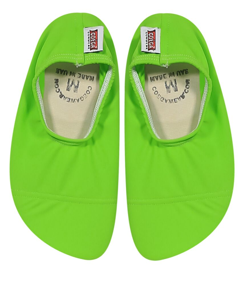 Coega Solid Lime Pool and Beach Shoes