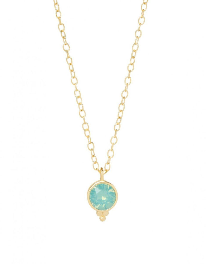 "Spartina High Point Necklace 16"" Pacific Opal"