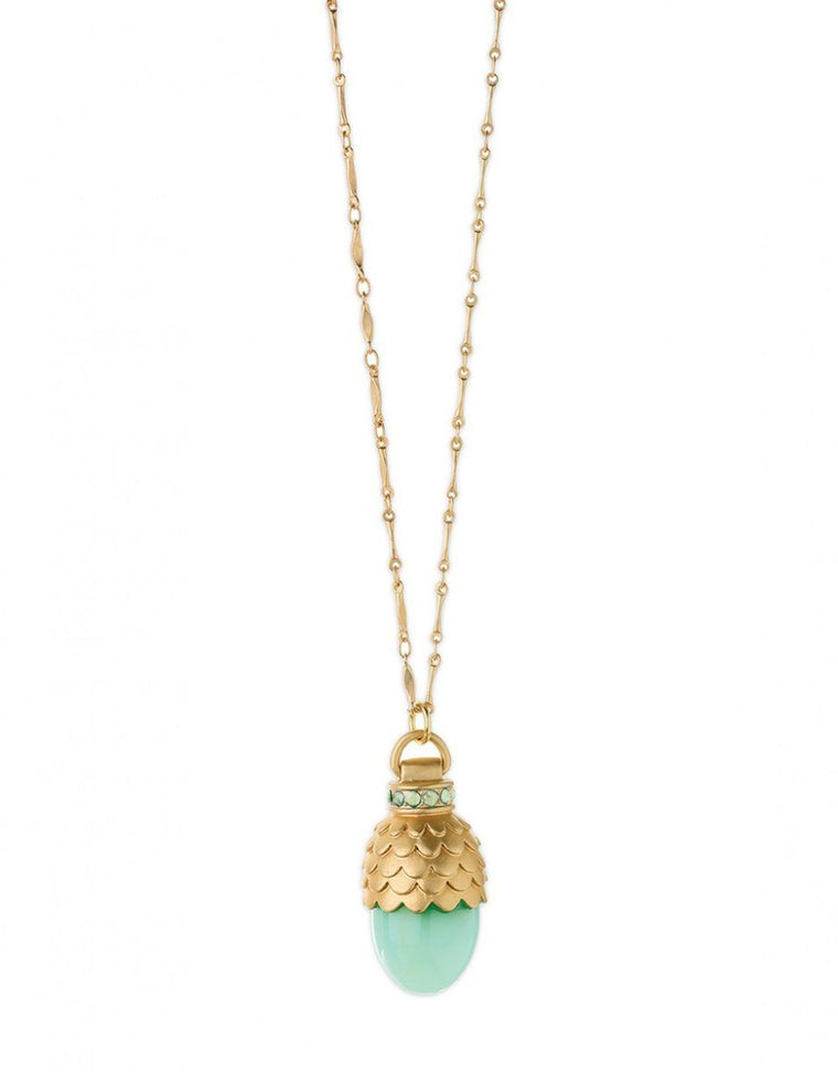 Spartina Mermaid Scales Bauble Necklace 30