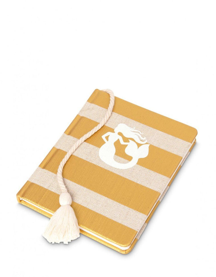 Spartina Ruled Hardback Book Mermaid Stripe 7x8.5