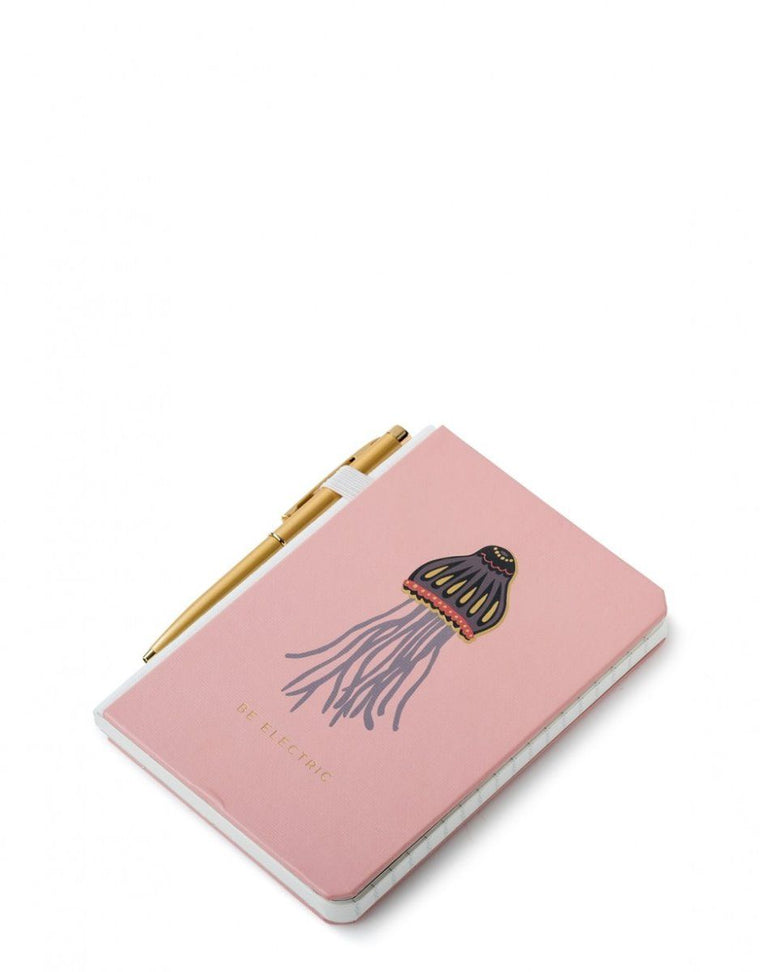 Spartina Pocket Pen Notebook Jellyfish