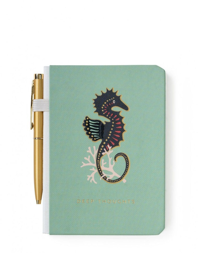 Spartina Pocket Pen Notebook Seshorse
