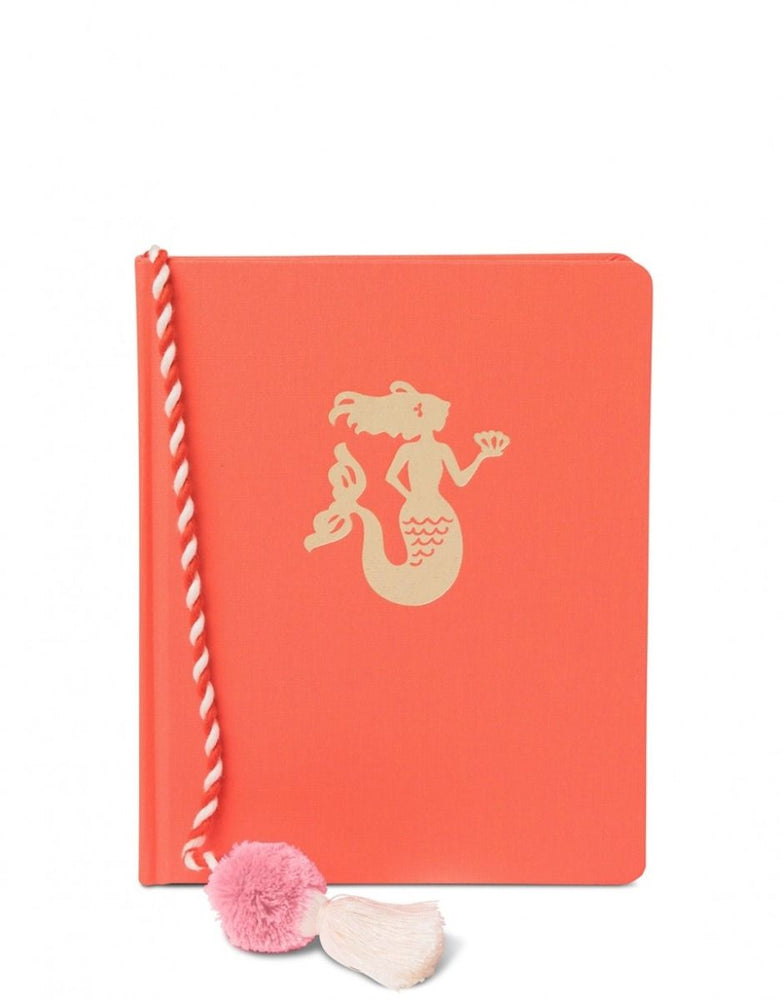 Spartina Ruled Hardback Book Mermaid Tassel 7x8.5