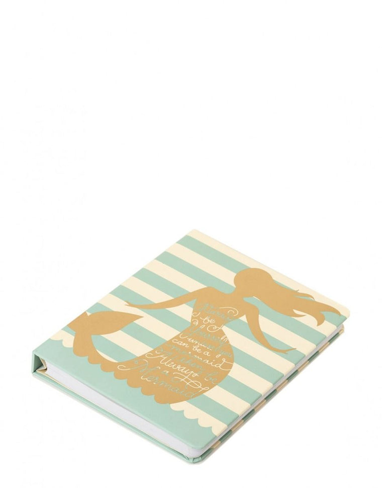 Spartina Ruled Notebook Always a Mermaid 6x7