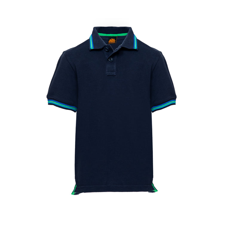 Navy Polo For Boys