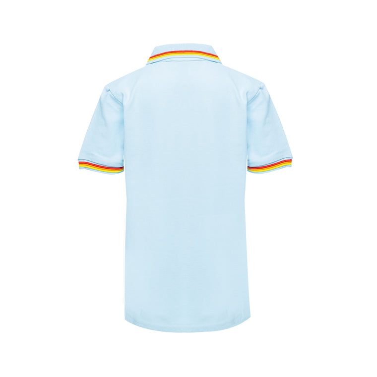 light blue polo shirt for kids
