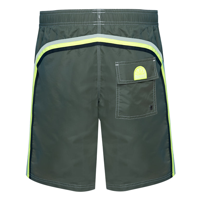 mens surf shorts in green