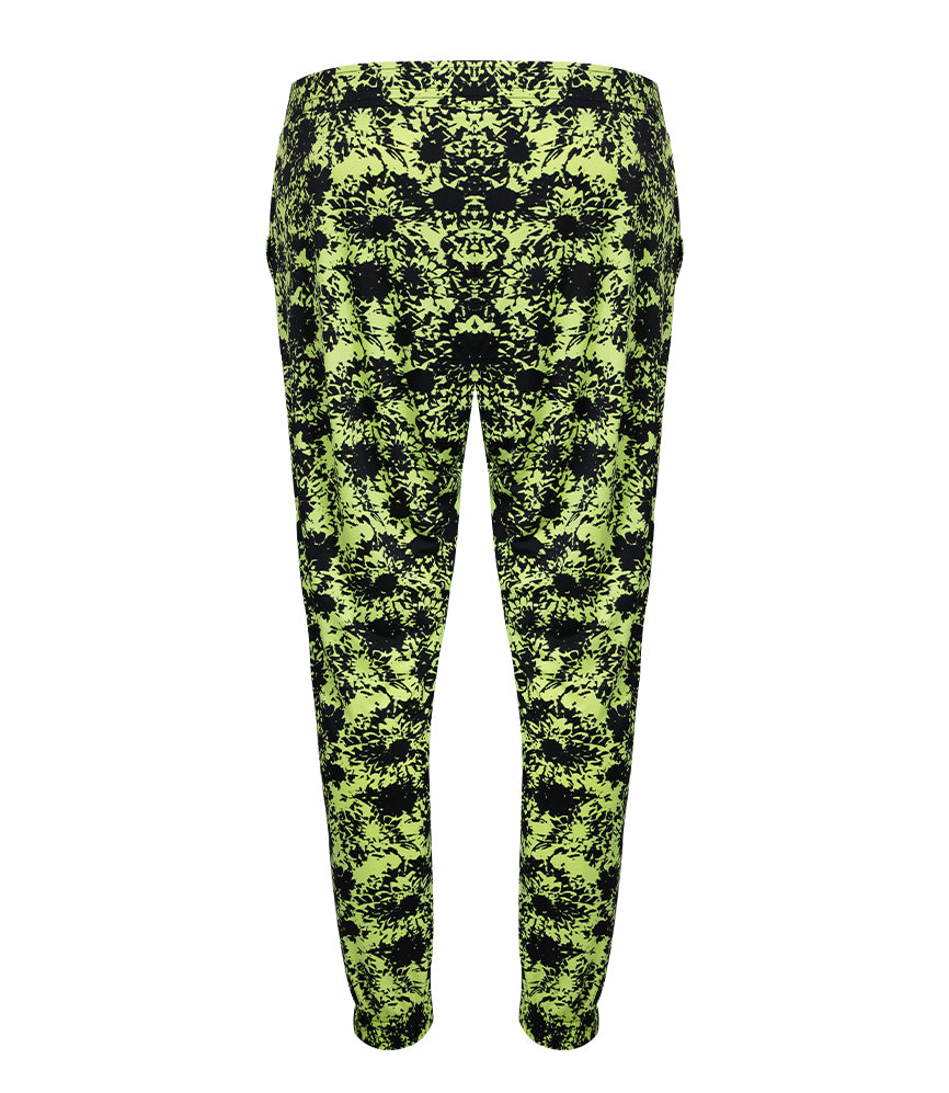 Camilla Beach Pant - Black Lime