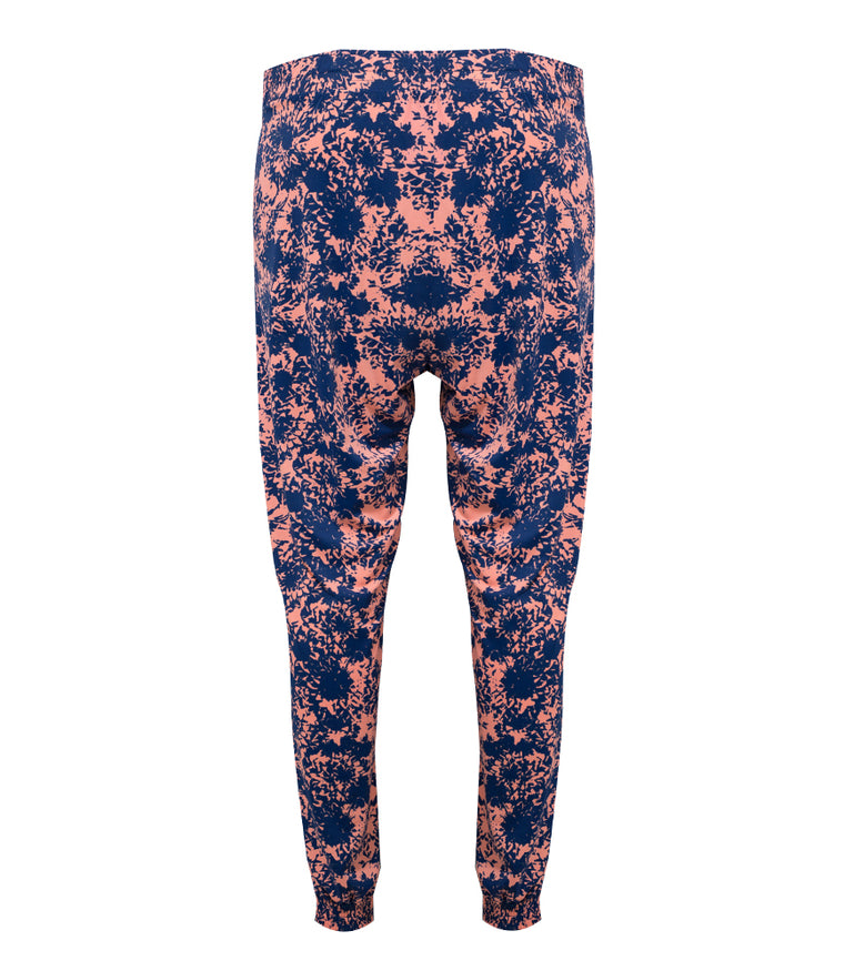 Camilla Beach Pant - True Blue/ Papaya