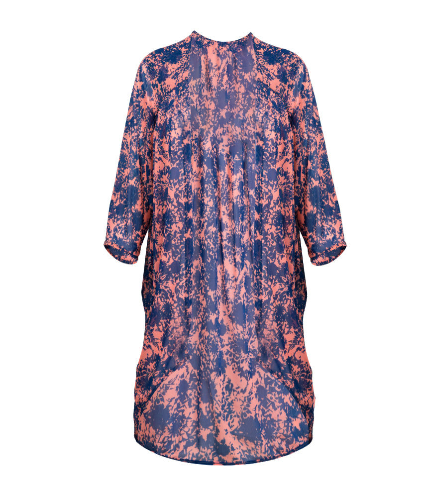 Camilla Kaftan - True Blue/ Papaya