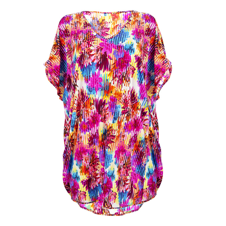 Summer Bright Kaftan - Punch