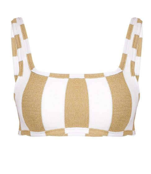 Tacoola Minnie Top Mocha Stripe