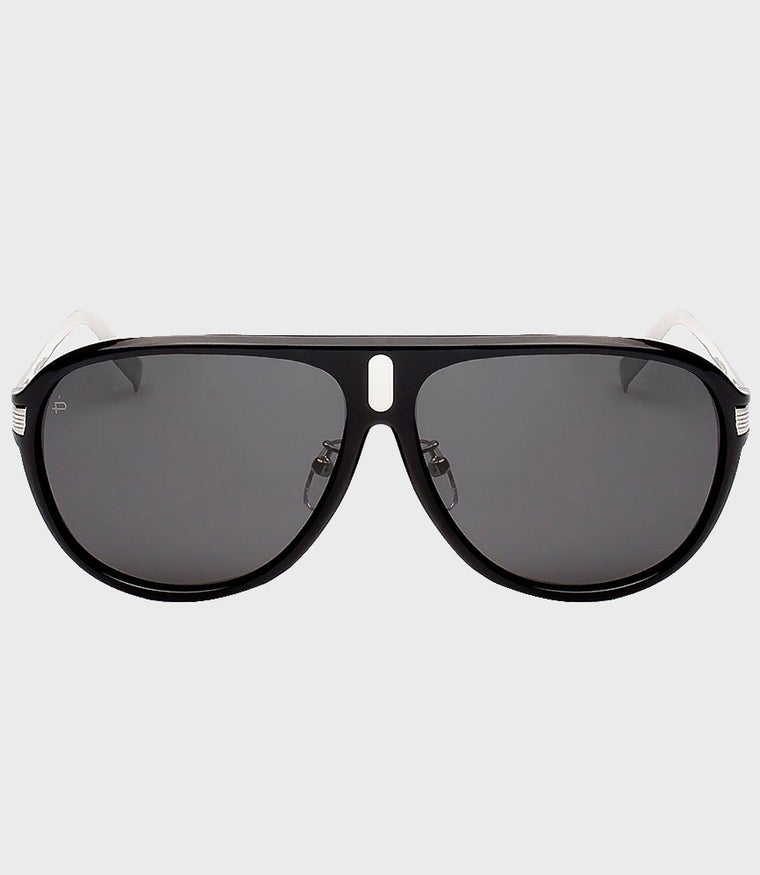 Mens Sunglasses The McQueen Black/Grey