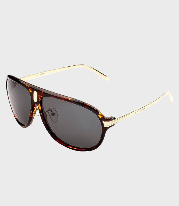 Mens Sunglasses The McQueen Gold Grey