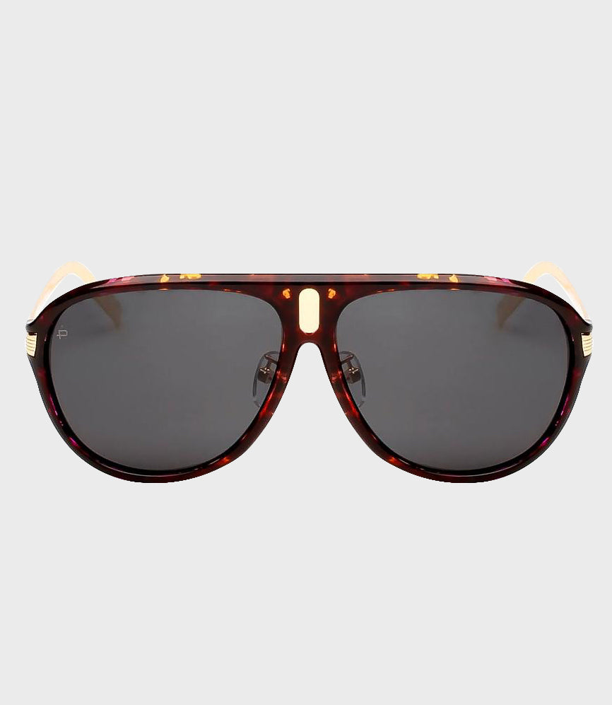 Mens Sunglasses The McQueen Purple Tortoise/Grey