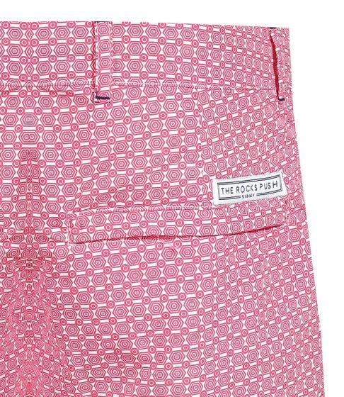 Blueys Umbrellas Pink Men's Swim Shorts
