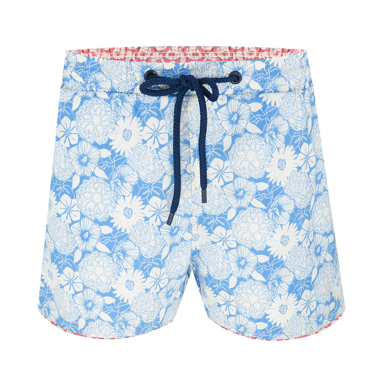 Balmoral Lineral Floral Men's Swim Short