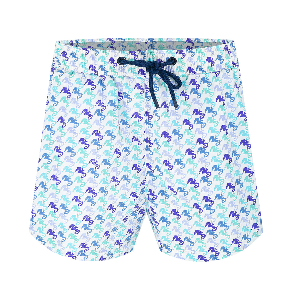 Balmoral Seahorse Blues Men's Swim Shorts