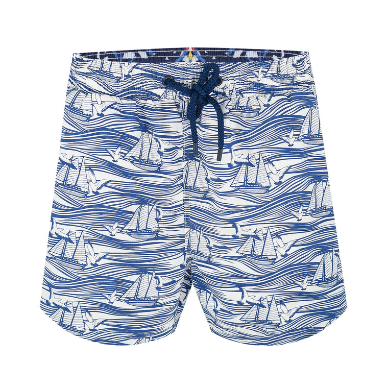 Balmoral Boat Waves Men's Swim Shorts