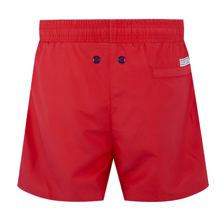 Balmoral Red Men's Swim Shorts