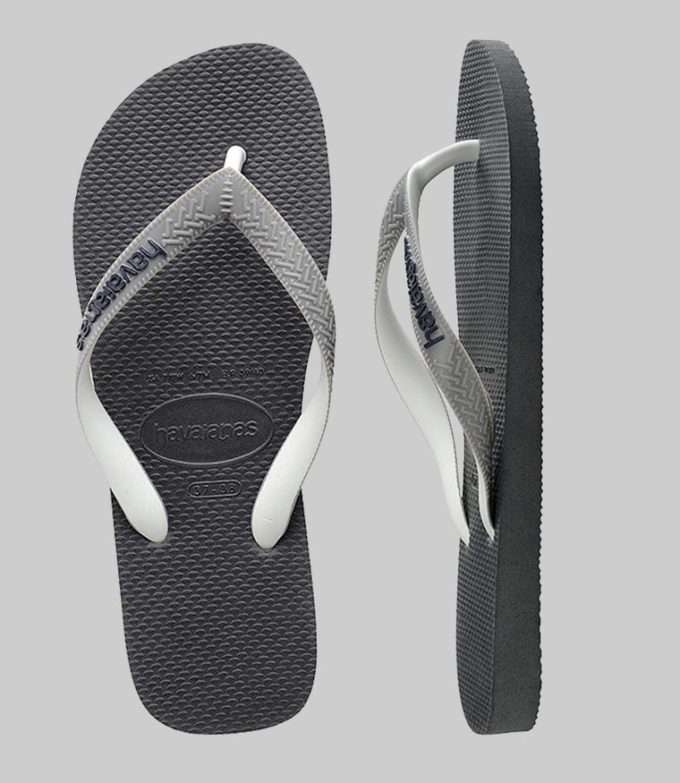 Top Mix Flip Flops Graphite