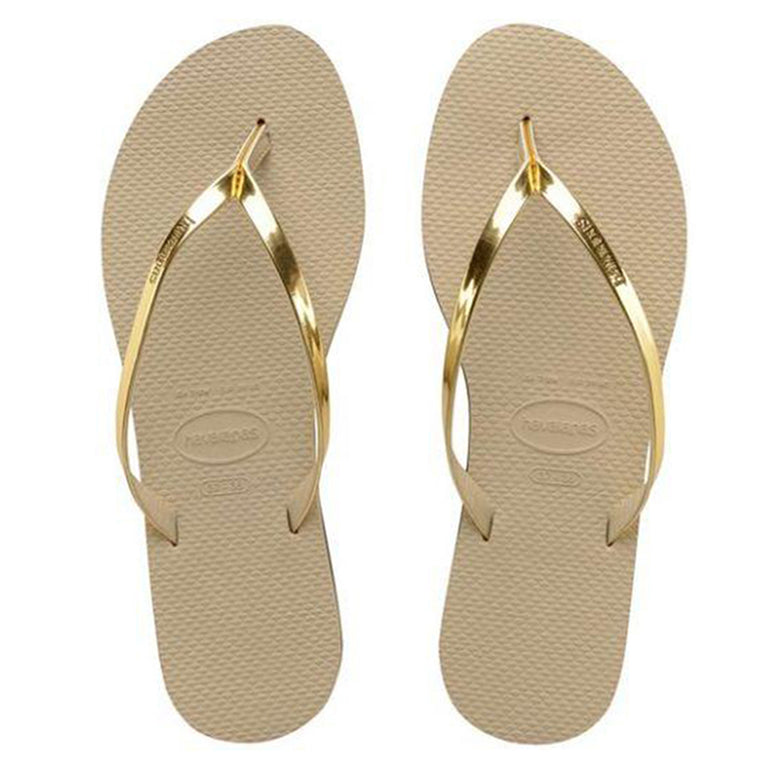 Havaianas You Metallic G/L Golden