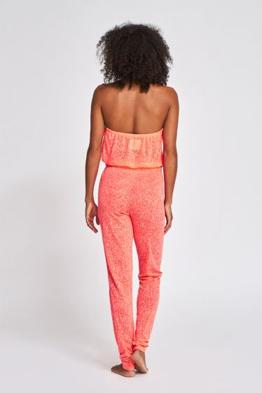 Pitusa Halter Jumpsuit Watermelon