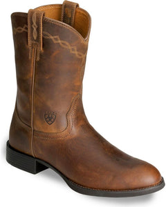 Ariat 10002280 Men's Heritage Roper Black Leather
