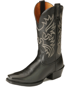 Ariat 10002296 Men's Legend Dress Boot Black/Deertan